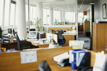 interiors of an office